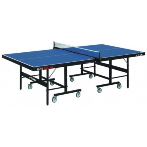 Stiga Table Tennis Table Elite Roller CSS Blue with a 25mm Top