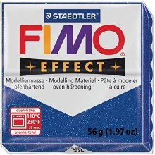 Staedtler - Fimo effect 57g, Glitter Blue