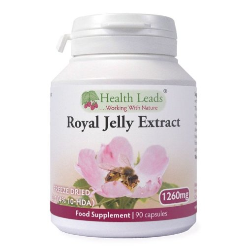 High Strength Royal Jelly Extract 3:1 (4% 10-HDA) 1260mg x 90 capsules