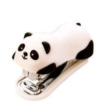 Cute Panda Mini Desktop Stapler&Staple Hand Stapler Office/Home Stapler(6*2.5CM)