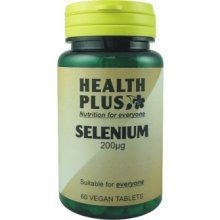 Health Plus - Selenium 200ug 60VTabs