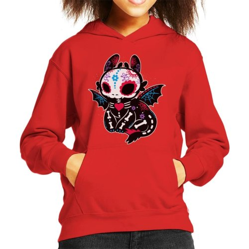 Toothless Skeleton How To Train Your Dragon Kid's Hooded Sweatshirt