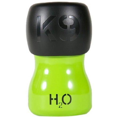 H2O4K9 Water Bottle, 270 ml, Treefrog Green