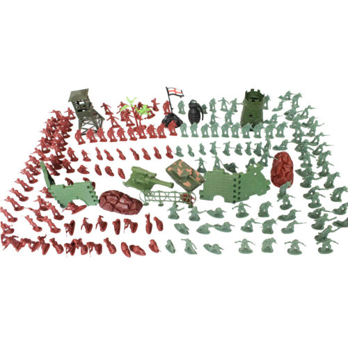Toy Gifts Toy Soldiers/Cars/Trucks /Tractors/Toy Guns Models -238 PCS