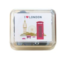 Mini Clockwork Music Box British Style Music Box Height Approx 1.5 Inch #3