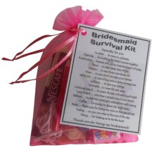 Bridesmaid Survival Kit Gift - A great sentimental gift for your bridesmaid