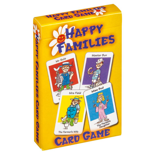Cartamundi Happy Families Family Fun Playing Cards