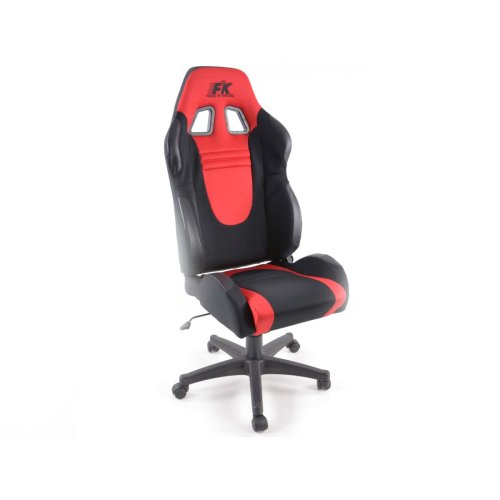 Office Chair Racecar black/red