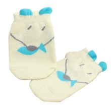 2 Pairs [Fish] Infant Toddler Socks Cotton Socks for Baby Child Kid, 0-2 Years