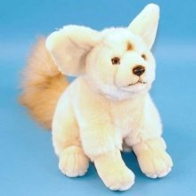 Dowman Sitting Fennec Fox Soft Toy 25cm