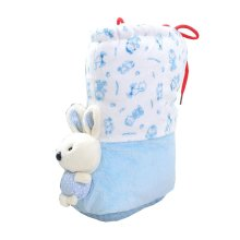 Blue Baby Pre-walker Shoe Cute Rabbit Infant Shoes