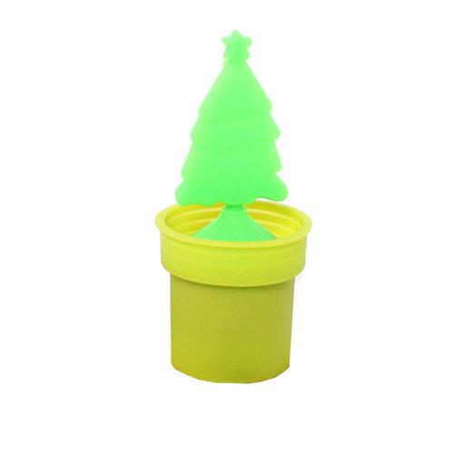 Creative Home Furnishing (Christmas Tree) Non-toxic Tea Mesh Strainer,YELLOW