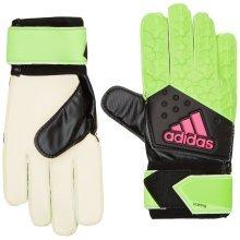 Adidas Men's Ace Training Gloves Size 9 Green/Black/Pink/White