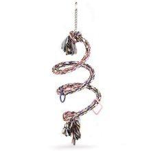 Beeztees Spiral Bird Swing for Parrots Cotton 20x60 cm 5166