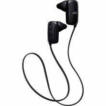 JVC Gumy Sports Bluetooth In Ear Headphone iPX2 rating - Black (HAF250BTBE)