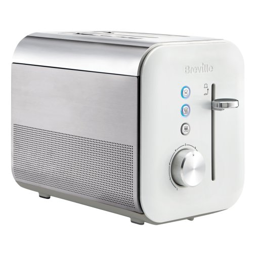 Breville VTT686 2 Slice High Gloss Toaster, White