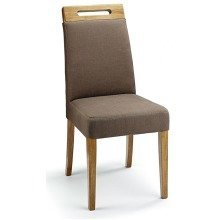 Mosoni Fabric Seat Kitchen Dining Chair Wooden Frame Fully Assembled Teal