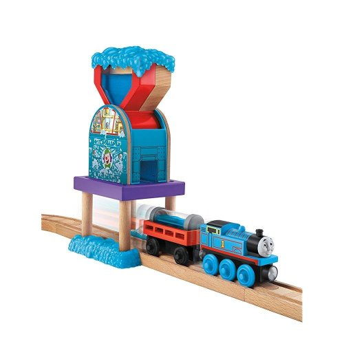 Fisher-Price Thomas Wooden Railway Set, Bubble Shop