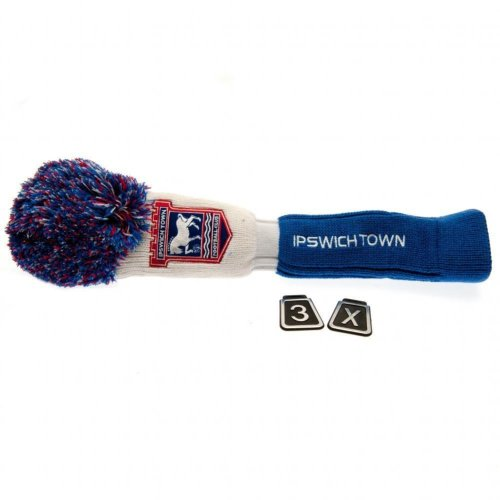 Ipswich Town FC Official Fairway Pompom Headcover