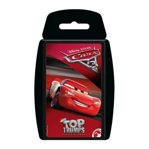 Disney Pixar Cars 3 Top Trumps
