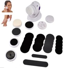30pc Pedicure Menicure Spa Massager Ped Pod Egg Foot Care Hard Dry Skin Remover