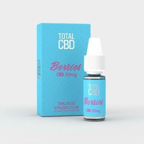 Total CBD E-Liquid 50mg Berry Burst 10ML
