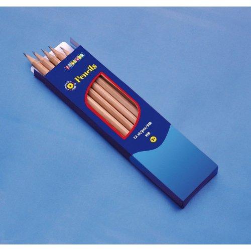 Pbx2470390 - Playbox - Pencils (non Polished) Hb - 12 Pcs