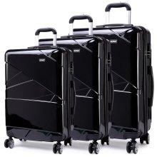 KONO Luggage Suitcase Travel Trolley Case Bag 20 24 28 Inch Set