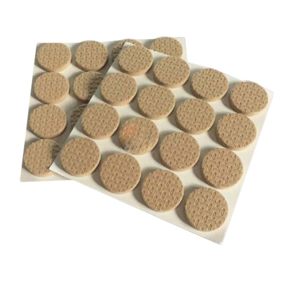 Eva Round Chair Pads Non Slip Furniture Protect Your Floors 64 Pcs On