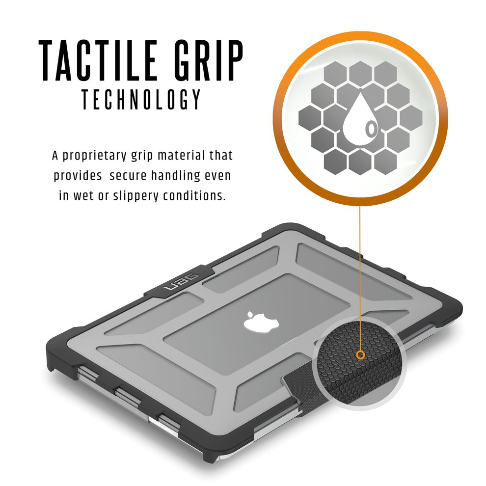 brand new 1d764 cf70c UAG MacBook Pro 13-inch Retina Display Feather-Light Composite [ASH]  Military Drop Tested Laptop Case