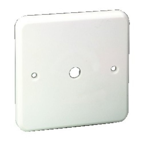 Cover Plate - Front Panel, White, Plastic