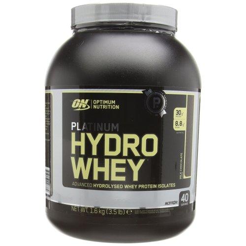 Optimum Nutrition Platinum Hydro Whey Protein Powder, 1.60 kg - Chocolate