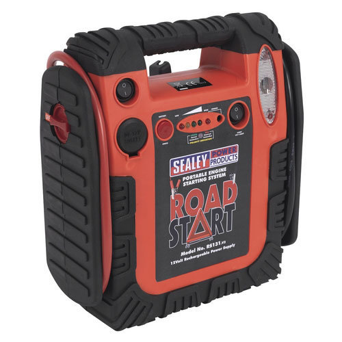 Sealey RS131 12V RoadStart Emergency Battery Booster Jump Start Power Pack 900A