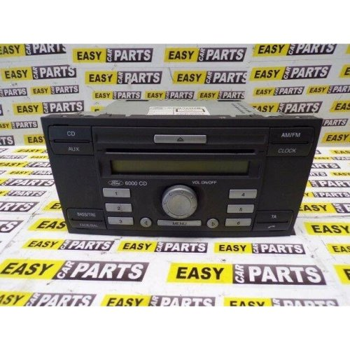 FORD FIESTA RADIO STEREO / CD PLAYER WITH CODE P/N 6S61-18C815-AJ