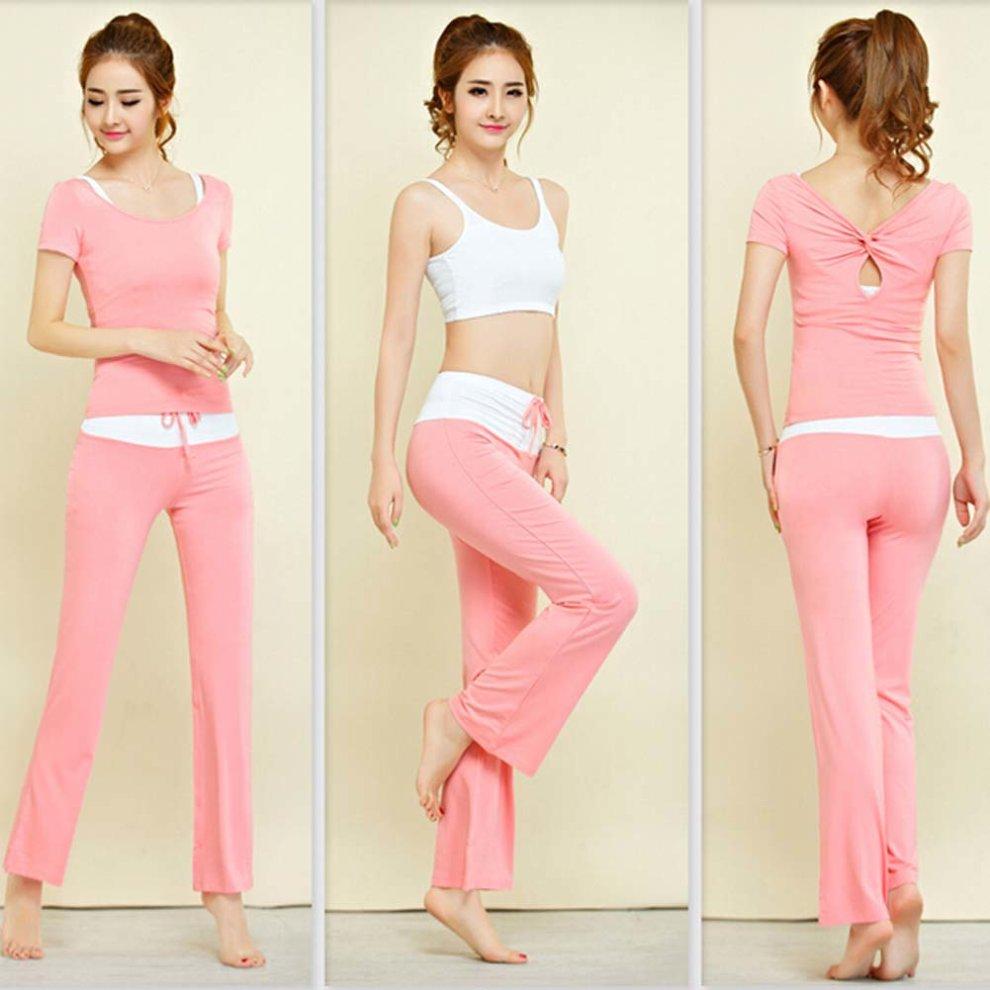 5b25486d2813 ... Womens Dance Clothes Yoga Wear Set 3 Pieces Fitness Prana Yoga Dance  Outfit - 1. >