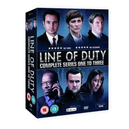 Line of Duty: Series 1-3 DVD Box Set