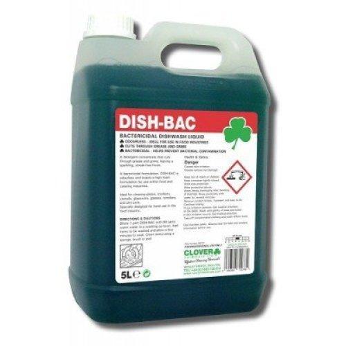 DISH-BAC BACTERICIDAL WASHING UP LIQUID BY CLOVER 221