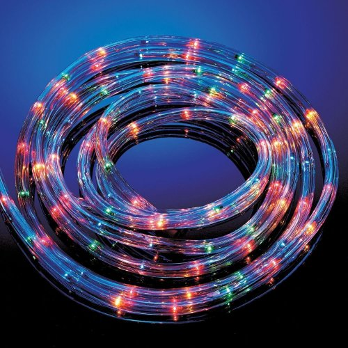 Sentik 10M Multi Coloured Rope Light Outdoor Indoor Party Lights Christmas Xmas
