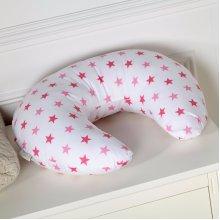 Breast Feeding Nursing U Pillow Little Star Pink