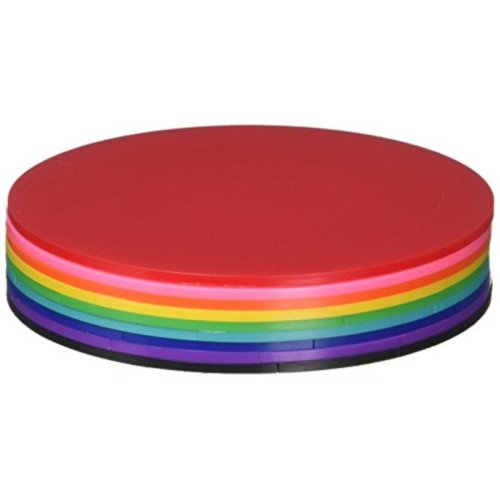 ETA Hand2Mind Deluxe Rainbow Fraction Circles