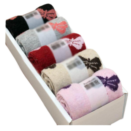5 Pairs Women Soft Socks Fall Winter Warm Socks Decent Gift-A08