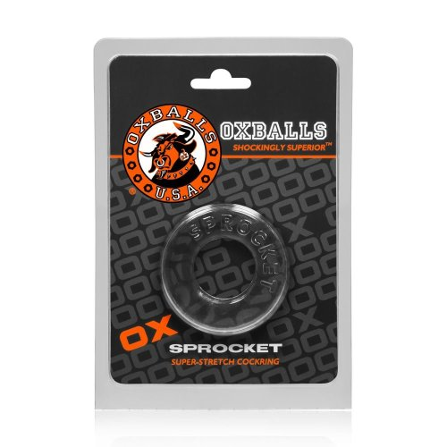 Oxballs Sprocket Cock Ring Clear