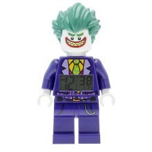 Lego Batman Movie The Joker Minifigure Clock