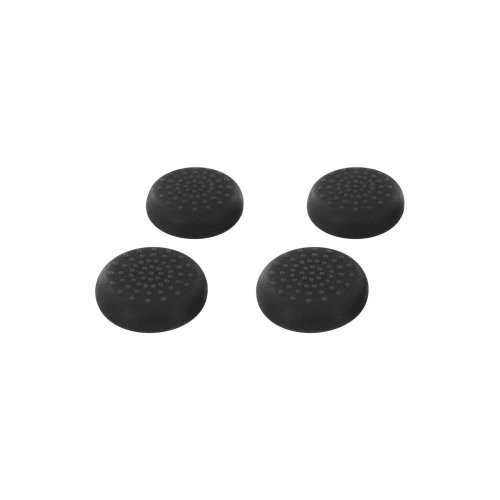 ZedLabz TPU thumb grip stick caps for Nintendo Switch pro controller - 4 pack black