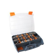 17 Drawer Compartment Tool Carry Case