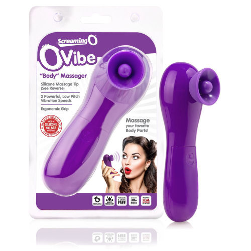 Ovibe Body Massager- Grape