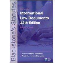 Blackstone's International Law Documents