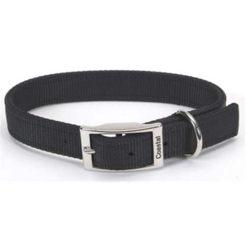 Coastal Pet Products  20 in. Double Web Collar - Black
