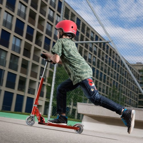 Micro Scooters Sprite 2 Wheels Lightweight Frame With Adjustable Handlebar For Age 5-12 - Red