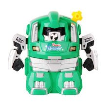 Cute Robot Manual Pencil Sharpener for Office and Classroom ( Green )